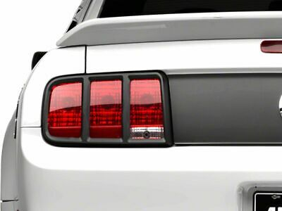 $101.99 • Buy MMD Tail Light Trim In Matte Black Exterior Styling Fits Ford Mustang 2005-2009