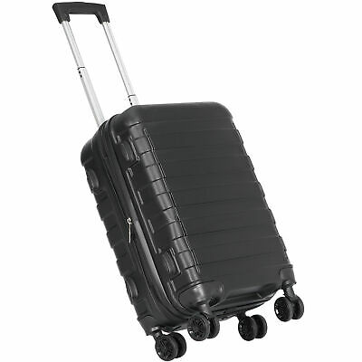"""View Details Hardside Carry On Spinner Suitcase Luggage Expandable With Wheels  21"""" Black • 51.99$"""