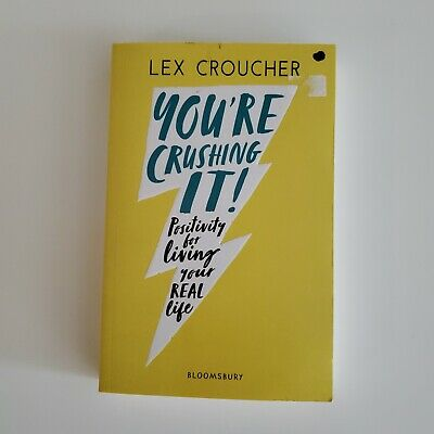 AU12 • Buy You're Crushing It: Positivity For Living Your REAL Life  Lex Croucher (English)