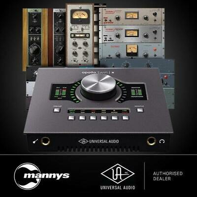 AU1822.20 • Buy Universal Audio Apollo Twin X Duo Audio Interface (Heritage Edition)