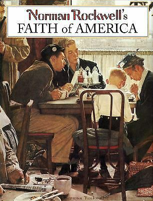 $ CDN7.27 • Buy Norman Rockwell's Faith Of America Hardcover Norman Rockwell