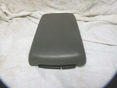 $46 • Buy 03 04 05 06 Lincoln LS Armrest Center Console Arm Rest Top Lid Gray Leather