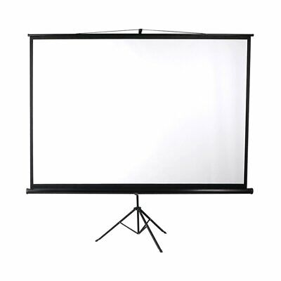 AU126 • Buy 100 Inch Projector Screen Tripod Stand Home Pull Down Outdoor Screens Cinema 3D