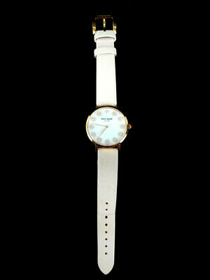 $ CDN39.79 • Buy Kate Spade Metro Bubble Watch Rose Gold With Pearl Dial And Nude Leather Band