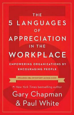 AU24.25 • Buy NEW The 5 Languages Of Appreciation In The Workplace By Gary D Chapman Paperback