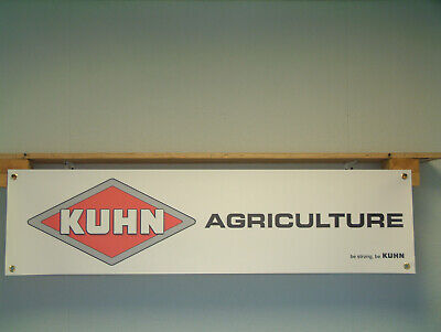 £14.90 • Buy Kuhn Agriculture Equipment Agricultural Tractor Show Workshop Display Sign