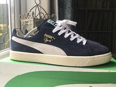 Puma Clyde Home U.K. 8.5  1 / 759 Pairs. Suede States Basket 90681 Made In Italy • 125£