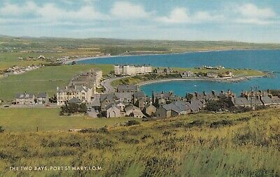 £2.75 • Buy Postcard - Port St Mary - The Two Bays
