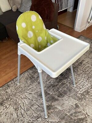£15 • Buy IKEA Antilop Baby Feeding High Chair With Tray And Soft Insert
