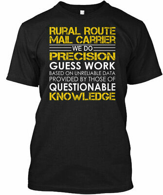 $23.95 • Buy Rural Route Mail Carrier Precision - Male We Do Gildan Tee T-Shirt