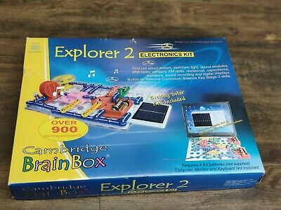 £79 • Buy Cambridge Brainbox Explorer 2 Electronics Kit