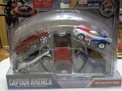 $ CDN51.12 • Buy Maisto 15179 - Marvel Captain America - 5 Piece Diecast Vehicle Multi Pack Set