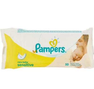 £17.99 • Buy Pampers New Baby Sensitive Baby Wipes 12 Pack 600 Wipes