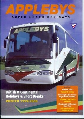 £4.99 • Buy Coaches In Lincolnshire Louth Grimsby Lincoln 1999 National Express Applebys