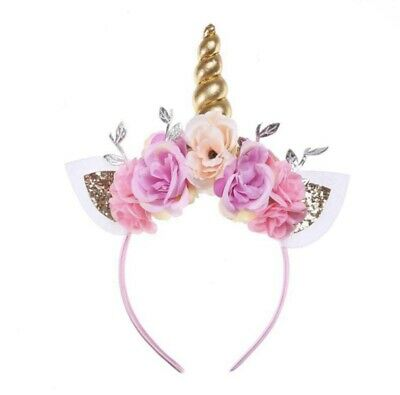 AU14.23 • Buy Unicorn Flower Headband