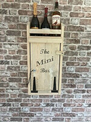 £65 • Buy Outside Wall Hot Tub Drinks Bar.  Personalised Gift. Suitable For Gin, Wine Etc
