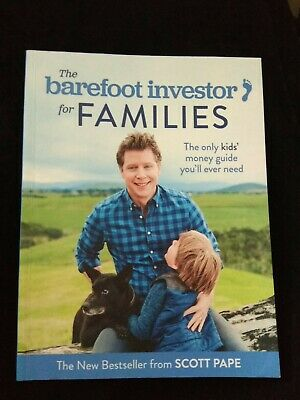 AU19.50 • Buy THE BAREFOOT INVESTOR FOR FAMILIES Scott Pape  FREE POST