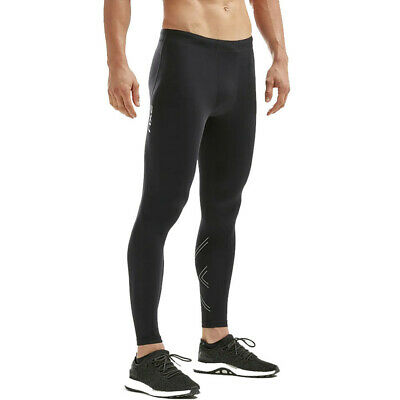 £34.99 • Buy 2XU Mens Aspire Compression Tights Bottoms Pants Trousers Black Sports Running