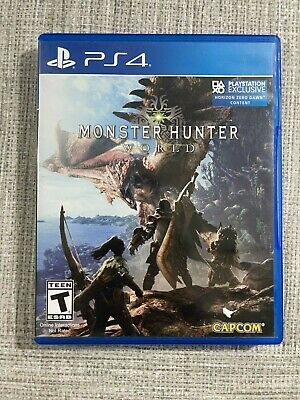 AU11.74 • Buy PS4 Monster Hunter World For Sony PlayStation 4