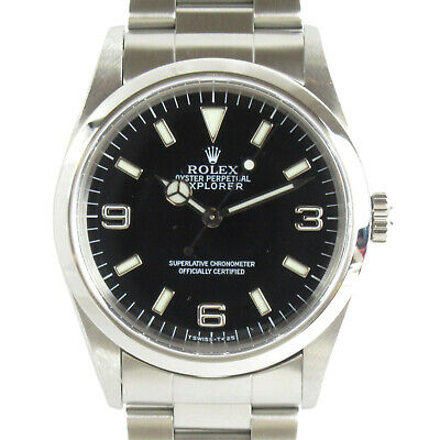 $ CDN9998.40 • Buy ROLEX Explorer 1 Wrist Watch 14270 Mechanical Automatic Stainless S Used Mens