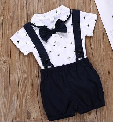 £14.99 • Buy Baby Boy 2 Piece Special Formal Occasion Soft Outfit Birthday Present Wedding