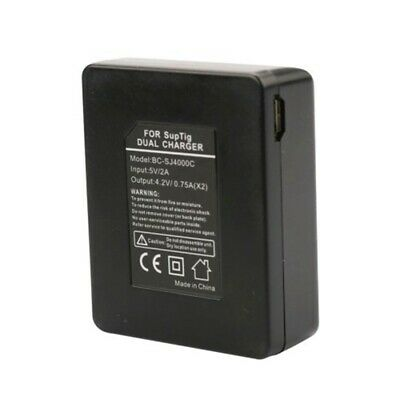 AU12.37 • Buy Double-Groove Battery Charger, For SJ4000/SJ5000/SJ6000 Battery, USB Charger