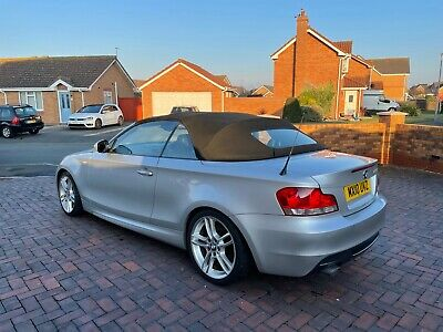Bmw 1 Series 18d 2.0 Msport Auto Convertible Full Black Leather No Swap/px • 5,595£