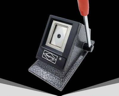 £99.99 • Buy ONE Table-type ID Passport License Photo Punch Cutter Right Corner
