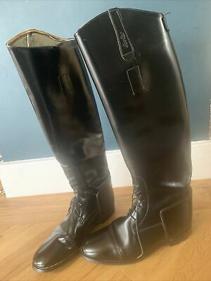£40 • Buy Ladies Black Hawkins Leather Riding Boots Size 6
