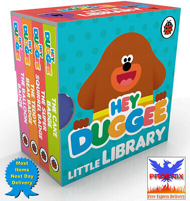 £5.69 • Buy HEY DUGGEE Little Library BOARD BOOK *BRAND NEW*