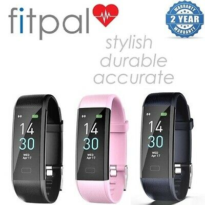 View Details Fitpal Fitness Tracker Smart Watch Sport Step Counter Activity Heart Rate Fitbit • 27.95£