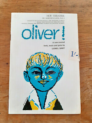 £5 • Buy Oliver! New Theatre Programme