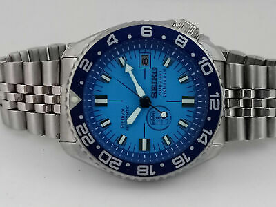 $ CDN177.53 • Buy Prodiver Blue Face Mod Seiko Diver 7002-7000 Automatic Men's Watch 420712