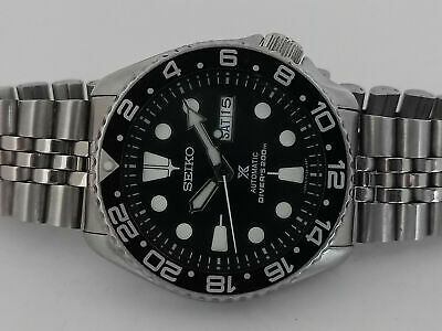 $ CDN189.60 • Buy Lovely Seiko Diver 7s26-0020 Skx007 Black Prospex Mod Automatic Watch 700837