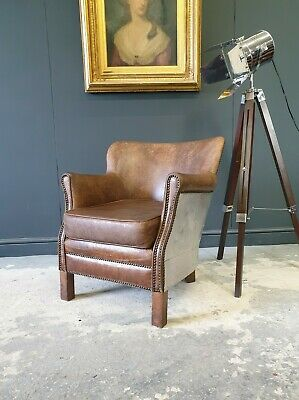 £350 • Buy 114.professor Halo Style Brown Chesterfield Armchair Delivery Avail 🚚 🇬🇧