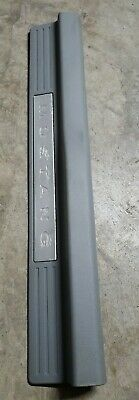 $43.95 • Buy 05 - 09  Ford Mustang Gt Door Sill Scuff Plate Drivers Trim Lh Gray Silver