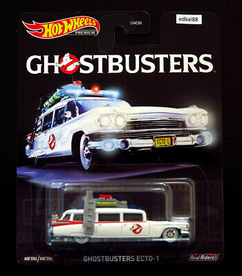 AU18.90 • Buy Hot Wheels Entertainment Ghostbusters Ecto-1 Ecto 1 Premium Die-cast Car, New