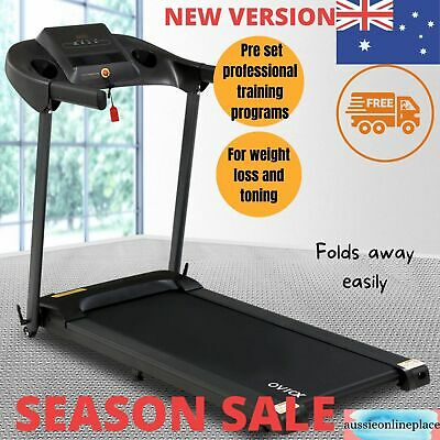 AU389.97 • Buy OVICX Treadmill Electric Home Gym Exercise Machine Fitness Equipment Compact
