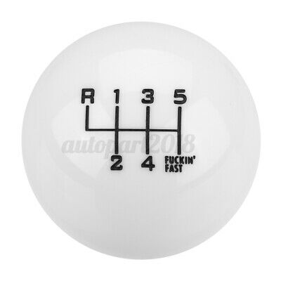 AU16.71 • Buy 6 Speed M10X1.5 Car Round Ball Gear Shift Shifter Knob Lever Manual Universal