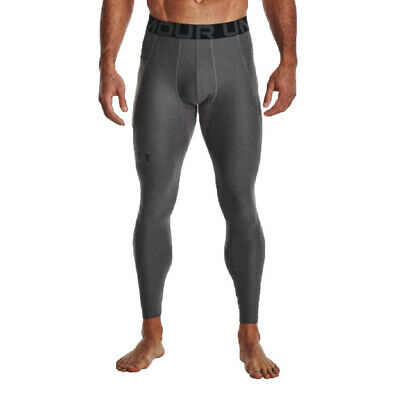 £29.99 • Buy Under Armour Mens HeatGear Compression Tights Bottoms Pants Trousers Grey Sports