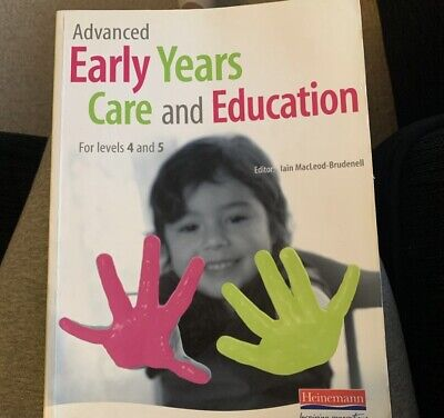£10 • Buy Advanced Early Years Care And Education For Levels 4 And 5