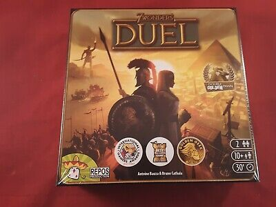 AU34.42 • Buy 7 Wonders: Duel Board Game 2 Player Strategy Game BRAND NEW!