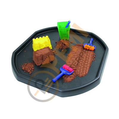 Heavy Duty Black Cement Sand Mixing Tray For Kids Water Play Outdoor Activity Uk • 12.99£