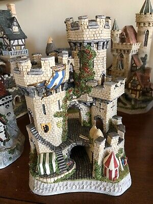 £98.72 • Buy David Winter Cottage  The Kingmaker's Castle  Limited Edition 1994 No.4715/7150
