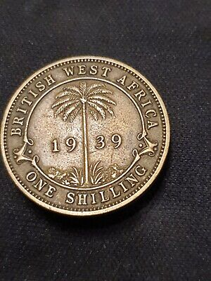 £9 • Buy British West Africa 1939 One Shilling Coin