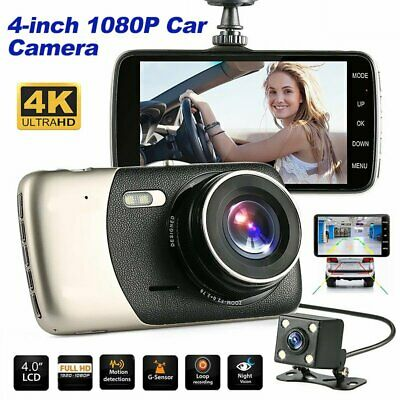 AU39.99 • Buy 2 Channel Dash Cam 1080P 4  HD Car Dual Camera Front And Rear Vehicle Recorder