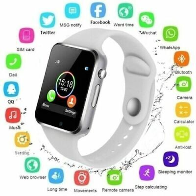 AU24.99 • Buy 2021 Waterproof Bluetooth Smart Watch Phone Mate For IPhone IOS Android Samsung