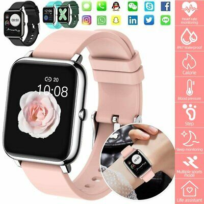 AU42.99 • Buy Touch Smart Watch For IPhone Android Phone Bluetooth Waterproof Fitness Tracker