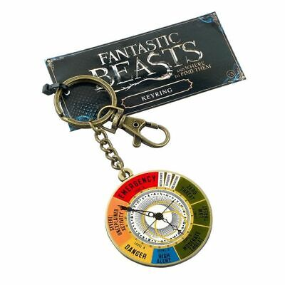 £0.99 • Buy Official Harry Potter Fantastic Beasts Magical Exposure Threat Level Keyring