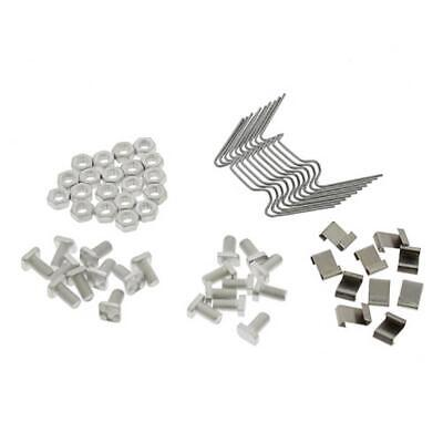 £5.95 • Buy ALM Greenhouse Service & Repair Kit Glazing Z Clips Cropped & Square Bolts GH010
